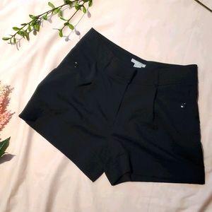 H&M black shorts sz 8 [852]
